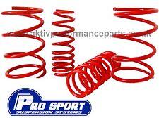 Pro sport Honda Civic 1.4i, 1.6i lowering springs EP1, EP2 spring kit 2001-2006