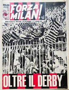 1966 FORZA MILAN NUMERO 37