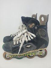 Mission Violator Hi-lo 80/72 Proto SV 4.3 Roller Hockey Inline Skates Men's 9D