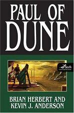 Paul of Dune by Brian Herbert, Kevin J. Anderson