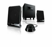 Philips SPA1312/27 Multimedia Speakers 2.1 (Black)