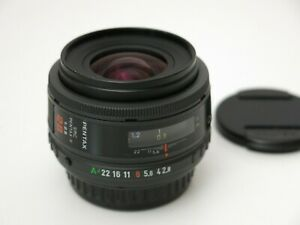 SMC PENTAX-F 28mm f/2.8 Wide Angle Lens For K Mount Mint