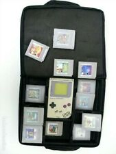 GameMate Nintendo Gameboy Black Storage Carry Case with Strap