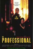 THE PROFESSIONAL MOVIE POSTER Original SS 27x40 JEAN RENO NATALIE PORTMAN