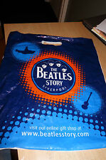 THE BEATLES - THE BEATLES STORY LIVERPOOL - USED CARRIER BAG - 2010 - LOOK!