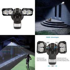 luces de seguridad LED, 18 W Sensor de movimiento luz, impermeable con ajustable