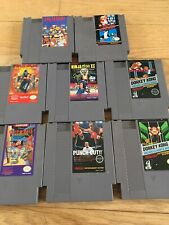 Nes Lot Donkey Kong 1 5 Screw Rare Ninja Gaiden Mike Tyson Punch Out Chip N Dale