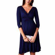 Ladies Maternity Dress Breastfeed Wear Clothing V-neck Formal Pregnancy Dresses