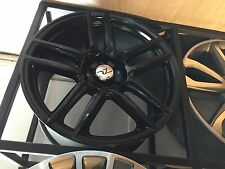 "19""Lexus is/ls/gs/Honda Civic/Nissan/Toyota/Mazda Alloy Wheels black staggered"