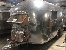1957 Airstream Bubble! - super rare vintage travel trailer Camper Glamper