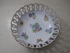 Rara Porcellana HEREND Dipinto a Mano Hungary Handpainted 24 cm Perfetta
