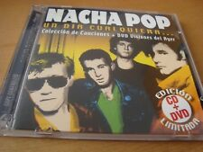 RAR CD & DVD. NACHA POP. UN DIA CUALQUIERA...EDICIÓN LIMITADA