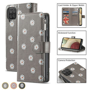For iPhone XR 12 11 8 7 SE 2020 Magnetic Leather Zipper Wallet Card Case Cover