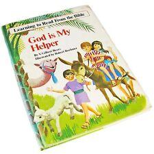 Vintage God Is My Helper Children's Book--1974
