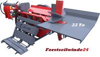 PROFI Holzspalter, liegend, 33 Tonnen, Zapfwellenantrieb, extrem stabil