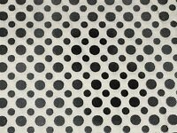 Fabric Carnivale Dots Ombre Black on White Cotton by the 1/4 yard