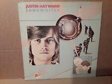 JUSTIN HAYWARD - SONGWRITER - ROCK - VINYL LP - PLAY TESTED