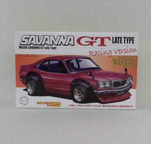 Fujimi 1/24 Scale Id109 Mazda Savannah Gt Rx-3 Late Model Racing Specifications