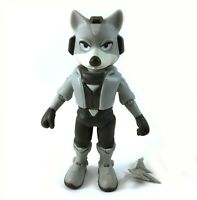 "Prototype Star Fox McCloud Jakks World Of Nintendo Starfox 4"" Action Figure"