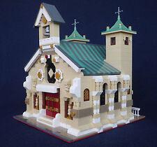 LEGO MOC Custom Modular Roman Church instructions 10243-10218-10251-etc.