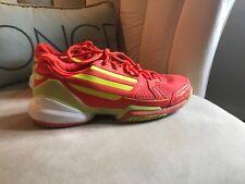 adidas adiZero Orange Shoes  men's size 9