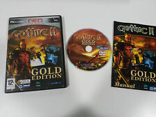 GOTHIC II GOLD EDITION NIGHT OF THE RAVEN PC ESPAÑOL DVD-ROM JOWOOD PRODUCTIONS