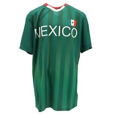 Mexico National Team Football Official Apparel Adult Size Athletic Shirt New