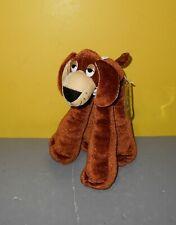 "Akron Aeros 10"" Funny Feet Brown Puppy Dog Stuffed Bean Plush Mascot w/Bandanna"