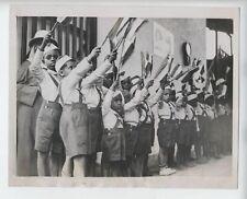 ORIGINAL 1936 ETHIOPIA CHILDREN PHOTO FASCIST ITALY ADDIS ABABA 7 1/4x9 inches