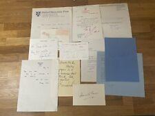 More details for authors - collection of signed cards etc, autographs, michael bond - paddington