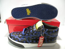 ALIFE EVERYBODY MID PARACHUTE SNEAKERS MEN SHOES BLUE S91EVM03 SIZE 11 NEW