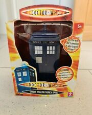 Doctor Who Tardis Talking Money Box Bank With Sounds (SEALED)