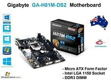 Gigabyte GA-H81M-DS2 LGA 1150 Motherboard