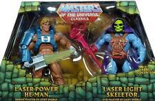 MOTUC Masters Universe Classics Laser Light Skeletor vs. Power He-Man MOTU MOC