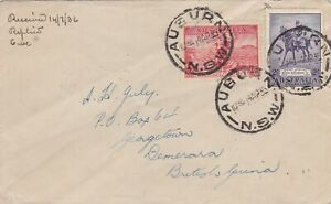 AFC291) 1935 (SG. 158) use of 2/- Jubilee (plus 2d Cable) on small 1936 (Apr.14)