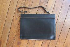 sac vintage noir 100% cuir