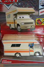 "DISNEY PIXAR CARS 2 ""LARRY CAMPER"" NEW IN PACKAGE,DELUXE MODEL,IMPERFECT PACKAGE"