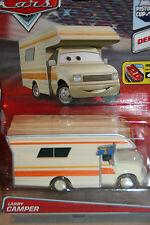 "DISNEY PIXAR CARS 2 ""LARRY CAMPER"" NEW IN PACKAGE, DELUXE MODEL, SHIP WORLDWIDE"