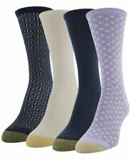 "Socks Women's Gold Toe Ankle Ultra Soft Crew Shoe Size 6-9 ""4 Pair"""