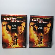 GHOST RIDER   Widescreen Edition 2007 DVD Nicholas Cage MARVEL