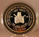 NED KELLY # 2 THE LAST OUTLAW SILVER STUNNER COIN - LIMITED EDITION 500 RELEASED