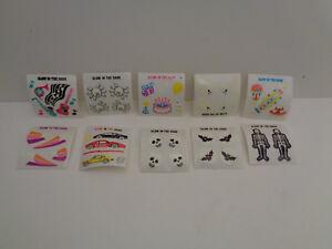 Vintage Sandylion Sticker  10 versch. Mini Sticker Glow in the Dark  90er J.