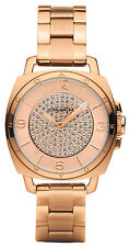 Coach 14502002 Boyfriend Rose Gold Dial Rose Gold Stainless Steel Women's Watch