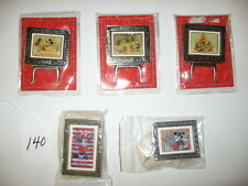 5 Disney Easel Pins; (3) Coca-Cola & (2) 75 Years of Fun Must See #0605-140