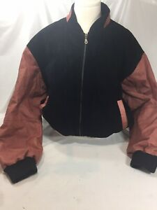 Wilson NFL Mens Leather Jacket Size 1X Leather Commissioner Paul Tagliabue