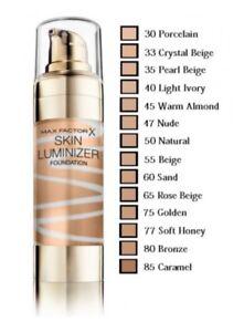 Max Factor Skin Luminizer Foundation 30ml New & Sealed - Select  Shades