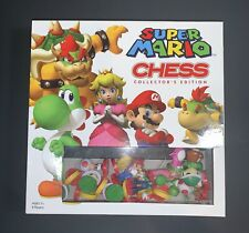 SUPER MARIO CHESS Collector's Edition Game Complete Board Play USAopoly