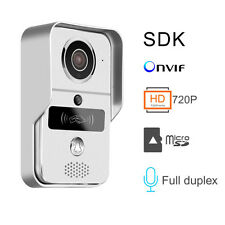 Wi-Fi Smart Video Door Bell with Night Vision Camera and 32GB SD Card