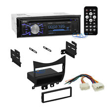 Boss Car Radio Stereo Bluetooth Dash Kit Wire Harness for 2003-07 Honda Accord