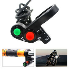Motorcycle Handlebar Turn Signal Lights Switch 22mm ON OFF Horn Headlight Switch